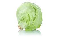 Eisbergsalat Salat Salatkopf Gemüse Freisteller freigestellt isoliert