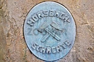 Morsbach-Stein der ehemaligen Zeche Westfalen Ahlen Deutschland