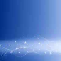 Festive blue background