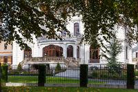 weiße Villa Aschersleben