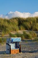 Strandkorb auf Juist