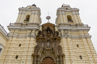 Monastery of San Francisco in Lima, Peru.