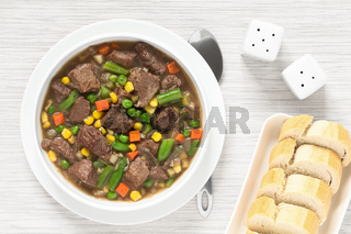 Beef Stew or Soup with Vegetables