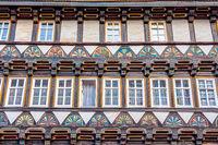 Fachwerkhaus Fassade in Stolberg (Harz)