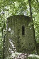 Burgruine Ehrenfels in der Oberpfalz
