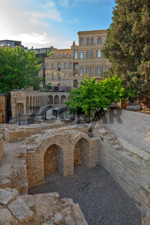 Old town in center of Baku city, Azerbaijan