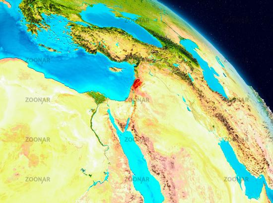 Lebanon on Earth