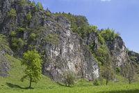 Klettergebiet Labertalwand bei Schönhofen