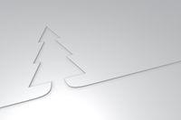 simpler weihnachtsbaum - 3d rendering