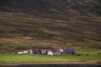 Island, Gehöft im Tal Bárðardalur