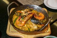 Seafood Paella Rice