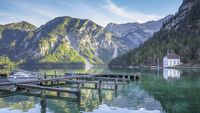 beautiful lake in Bavaria Germany