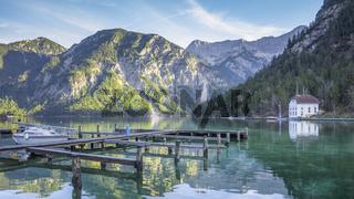 beautiful lake in Bavaria Germany