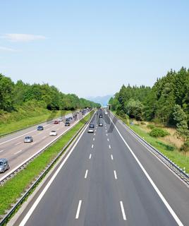 Transit Autobahn Urlaub