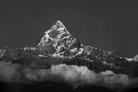 The Machapuchare in Nepal