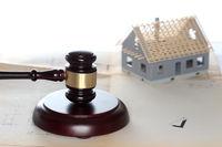 Bauplanung mit Richtersymbol