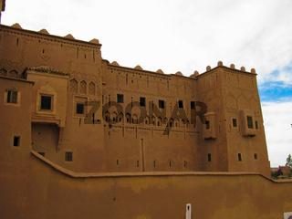 View to Ouarzazate old city aka kasbah, Morocco