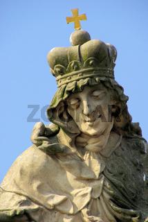 Karlsbrücke Statue