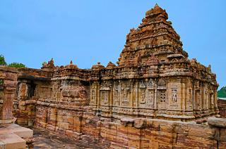 Pattadakal temple complex, UNESCO World Heritage site, Karnataka