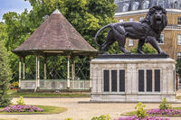 War Memorial Forbury Gardens Reading Berkshire UK