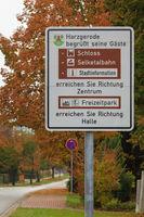 touristisches Leitsystem Harz