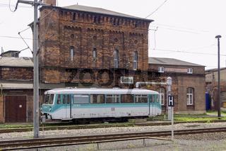 Alter Schienenbus in Gotha