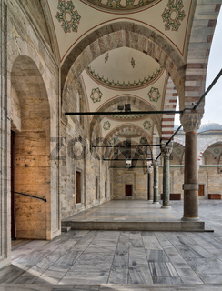 Passage leading to Fatih mosque, Fatih district, Istanbul, Turkey