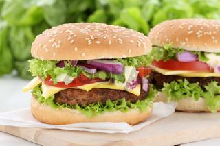 Cheeseburger Hamburger Burger Käse Tomaten