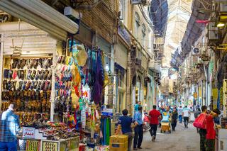People at Tehran Grand Bazaar