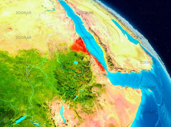 Eritrea on Earth