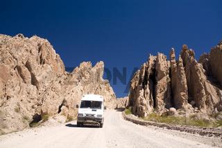 Camper_Sandsteinschlucht Quebrada de Cafayate