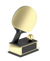 Table tennis trophy