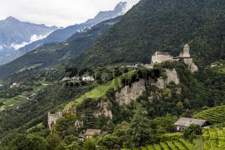 Schloss Tirol in Südtirol, Italien