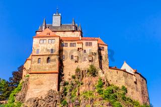 Burg Kriebstein in Sachsen, Deutschland