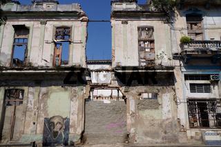 Ruinen,Havanna,Kuba