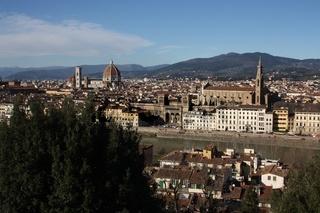 Florenz, Aussicht nahe Piazzale Michelangelo
