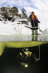 Eistauchen, ice diving