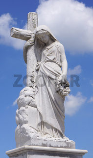 Friedhofsstatue,Camagüey,Kuba