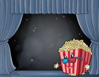Stylized popcorn theme image 7