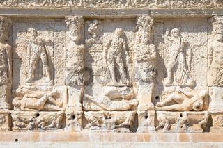 GALLIPOLI, ITALY - Greek fountain, 3rd century BC