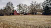 Old American barns