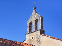 Kirche in der Altstadt von Groznjan, Kroatien