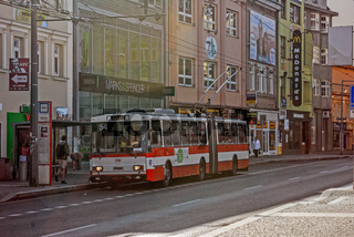Trolleybus in Usti nad Labem (Tschechien)