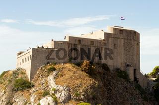 Lovrijenac Festung in Dubrovnik. Kroatien
