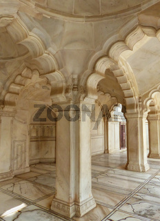 Interior of Nagina Masjid (Gem Mosque) in Agra Fort, Uttar Pradesh, India