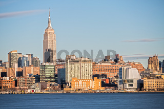Empire State Building in New York und Skyline