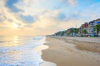 Spain sea beach town