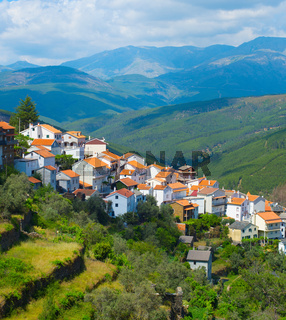 Mountains village view, Portugal