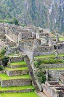 in Machu Picchu Peru