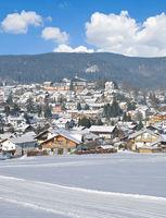 Winter in Bodenmais im Bayerischen Wald,Niederbayern,Deutschland